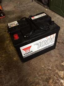 Car / Van 12v Battery - New.