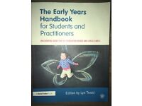 The Early Years Handbook for Students and practitioners Textbook