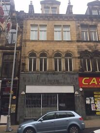 BRADFORD CITY CENTER SHOP TO LET