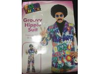 Groovy hippie suit size extra large