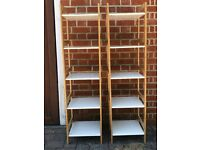 2 x Habitat Shelving Units - almost brand new. Buy individually or together.