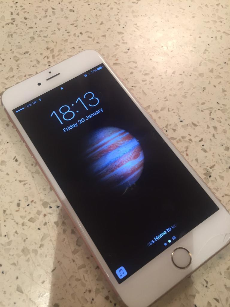 iPhone 6s Plus 16gb Rose Goldin Poole, DorsetGumtree - iPhone 6s Plus for sale. Used. In excellent working order only issue being small crack at bottom of the screen, see photos