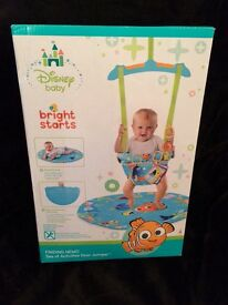 For sale-Disney baby bright starts finding nemo door junper