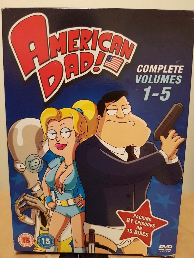 American Dad Seasons 1-5