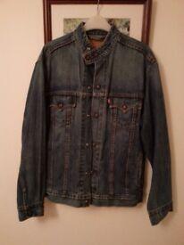Levis Easy Rider Jacket size on tag med ideal summer cruiser harley rider