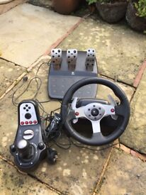 Steering Wheel Logic G25, 6 speed or sequential