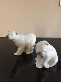 Lladro polar bears - ideal Christmas gift
