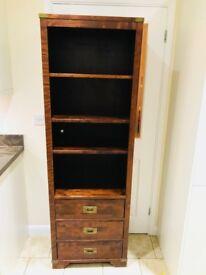Laura Ashley Garrat Chestnut 3 Drawer Bookcase
