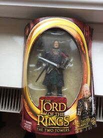 KING THEODEN IN ARMOR BOXED FIGURE
