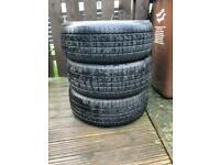 Avon WV7 Snow (winter tyres) 235/55/17 - VW Transporter