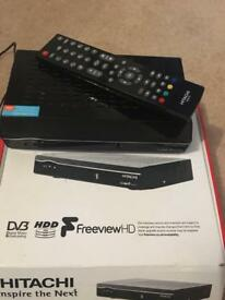 HD Hitachi Freeview Plus Box