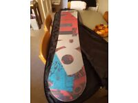 Nitro Magnum 168W Snowboard + carry bag for sale