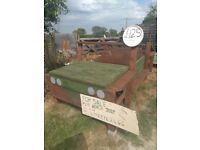 Kids jeep play bench,hand made,garden/school/pub/