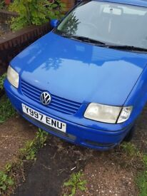 VW POLO FOR SALE SPARES AND REPAIRS, HASNT BEEN STARTED IN 2 YEARS.. SOLD AS SEEN!