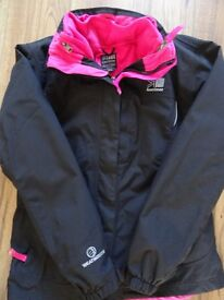 Karromor wind and rainproof girl coat age 13