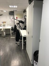 Shared office space for rent in Central London