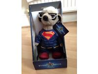 Limited edition Superman meerkat toy/collectible