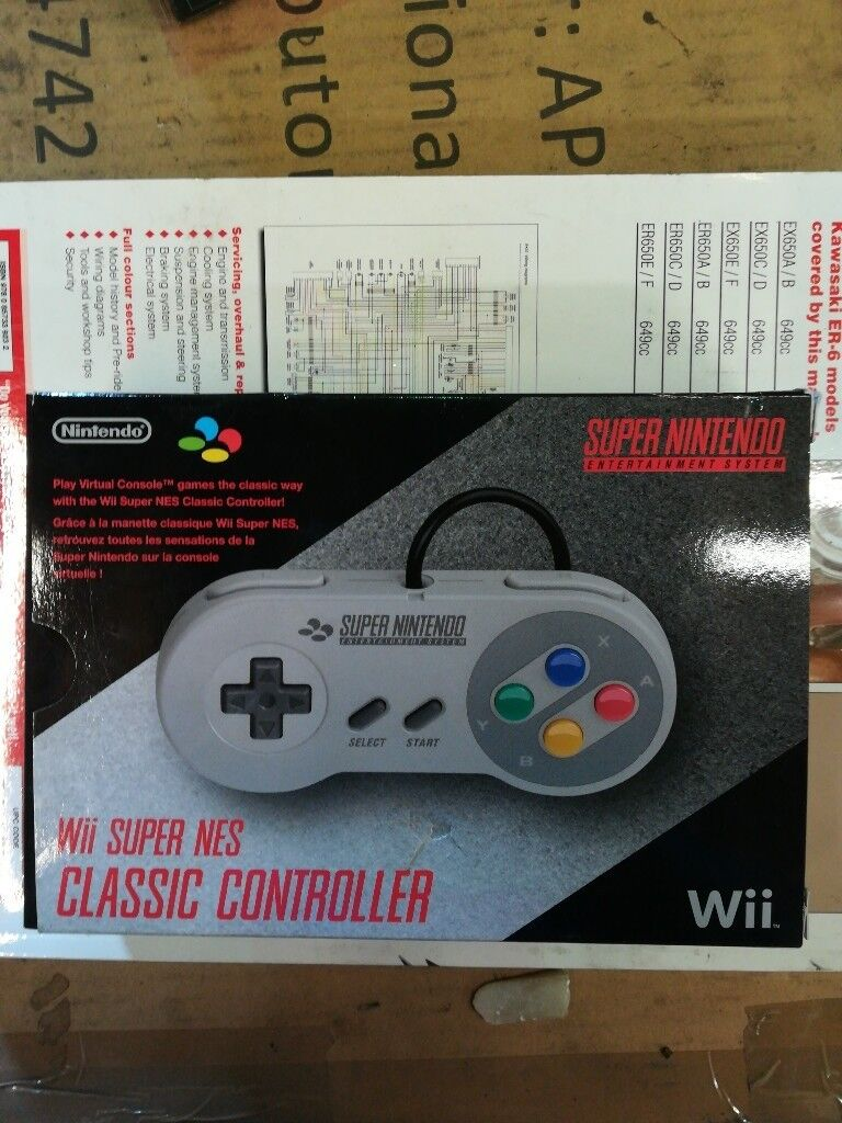 Wii Super Nes Classic Controller In Driffield East Yorkshire Patient Entertainment System Wiring Diagram Gumtree