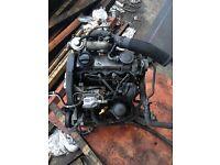 1.9 tdi 110 bhp non pd engine, turbo, starter. (Bora, golf, toledo,leon)