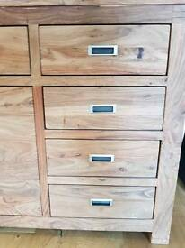 John Lewis sold oak sideboard