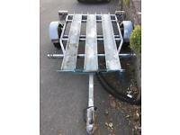 Bike trailer for 1,2 or 3 bikes