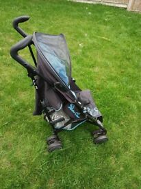 Silver Cross pop Stroller with rain cover £40