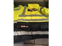 New Hi-Vis Flame Retardant winter Jacket