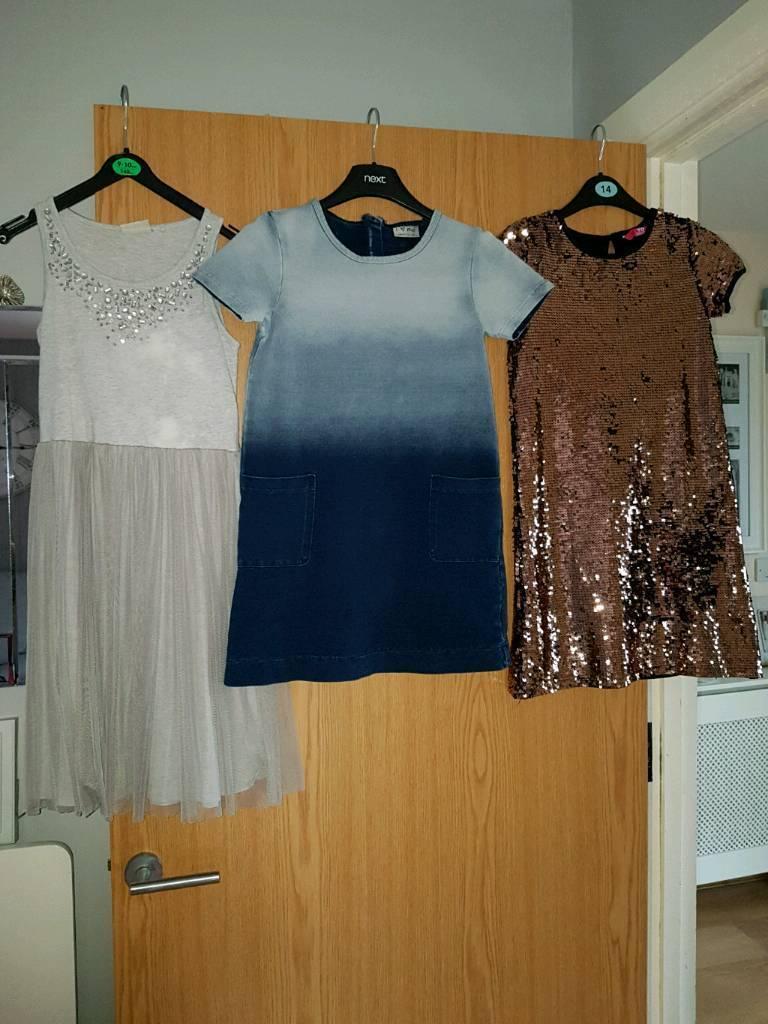 Girls dresses age 8-9