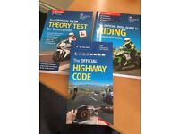 Motorcycle driving licence - Pack x3 Official DVSA books