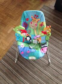 Fisher Price rain forest bouncy chair