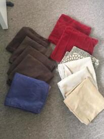 Assorted cushion covers
