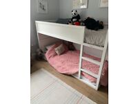 IKEA Bunk Bed Painted White
