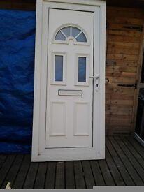 Upvc door 895x2080 with a 150 cill