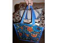 Sakroots oilcloth type holdall/caddy bag - new with tag