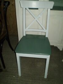 Dual Colour Country Style Dining Chair