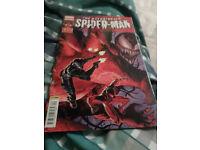 The astonishing spiderman #9 comic book