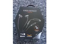 V-MODA Forza Metallo Wireless In-Ear Headphones - Gunmetal Black (Sealed)
