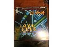 Def Leppard Love Bites Vinyl Single Rare