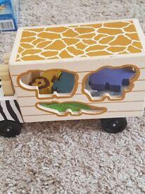 Zoo shaoe sorter
