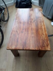 SOLID WOOD COFFEE TABLE FOR SALE!!
