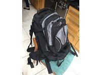 Large travel backpack