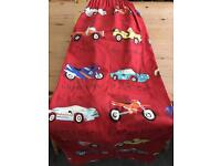 Next vehicle curtains and duvet cover