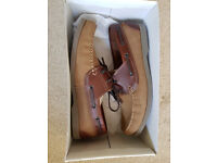 Clarks deck shoes - Size 9.5 - Brand New boxed