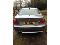 Bmw E60 5 series / automatic / 2.5 diesel / private plate / xenons / new Pirelli tyres