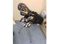 Golf set and bag Wilson/MacGregor