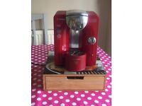 Tassimo Coffee Machine and Pods holder /storage