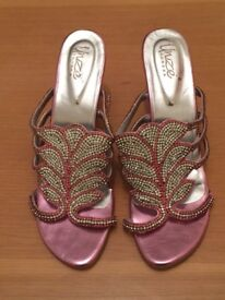 3x Brand new stunning diamonate sandals