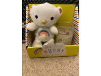 Magical Mummy candle and soft toy