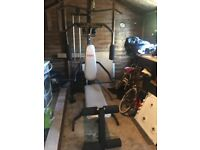 Multi-gym (York) with extras. Must dismantle hence price £100