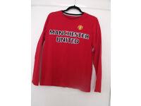 MUFC Pyjamas (M & S) Age 13-14 yrs red grey football